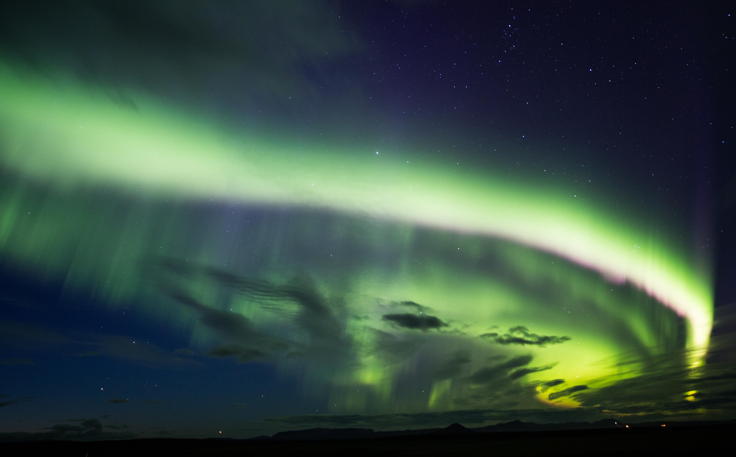 Excursión para ver auroras