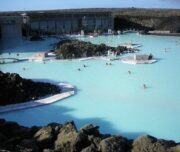 Balneario Laguna Azul en Islandia