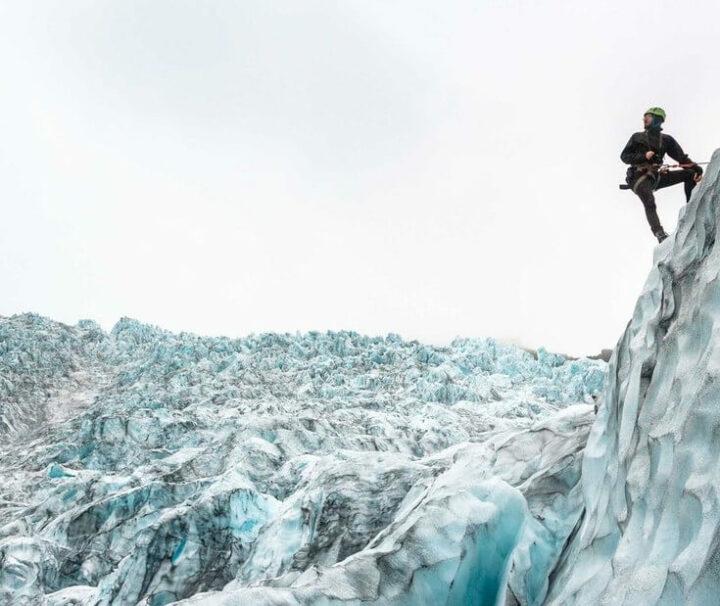 Escalada al glaciar Vatnajökull en Islandia